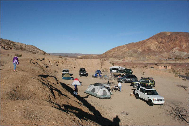 Base Camp at Calico campgrounds.