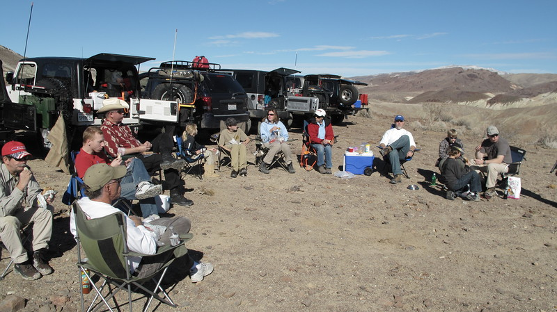 Lunch at the top of Opal Canyon.  Fantastic weather, warm, no wind, a beautiful day!