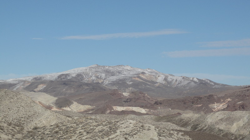 Black Mountain to the west.  Last Chance Canyon in the foreground