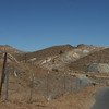 Significant mine works near Randsburg