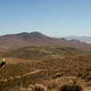Looking northeast from Government Peak.  Red Mountain in the distance