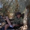 Kicking back at Camp Cudehay (sp?) in Last Chance Canyon