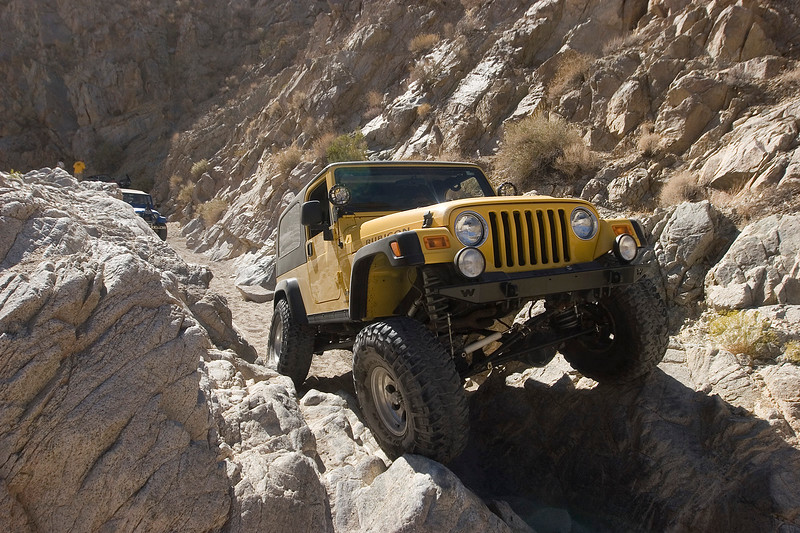 """Blain's sweet LJ with 7"""" of lift and 37"""" tires rolls through without effort"""
