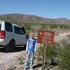 Megan poses near the entrance to Piute Gorge
