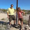 Nathan & Marni at the California/Nevada border.