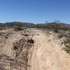 Trail conditions leading to Ft. Piute