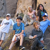The kids of the Mojave Expedition<br /> From Left to Right:  Eric, Trevor, Megan, Alex, Stefan, Jack (in blue hat)
