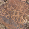 Nearby to Ft. Piute there are a number of ancient Indian petroglyphs