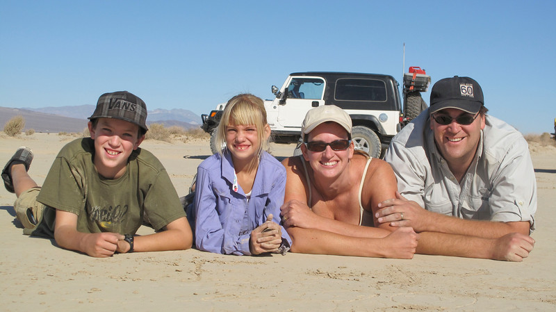 The Woods Family at Soda Lake