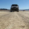Entering the dry lake bed of Soda Lake