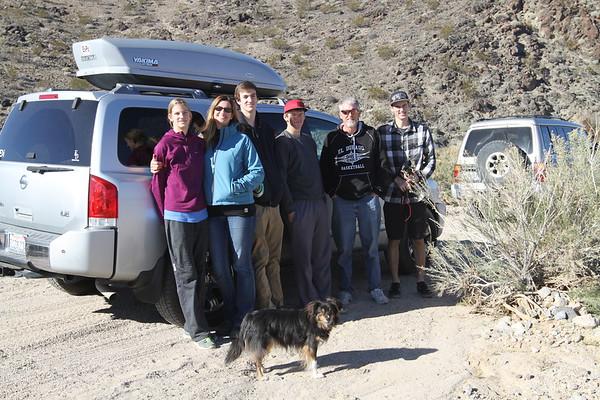 New Years Fun in Mojave - 2015