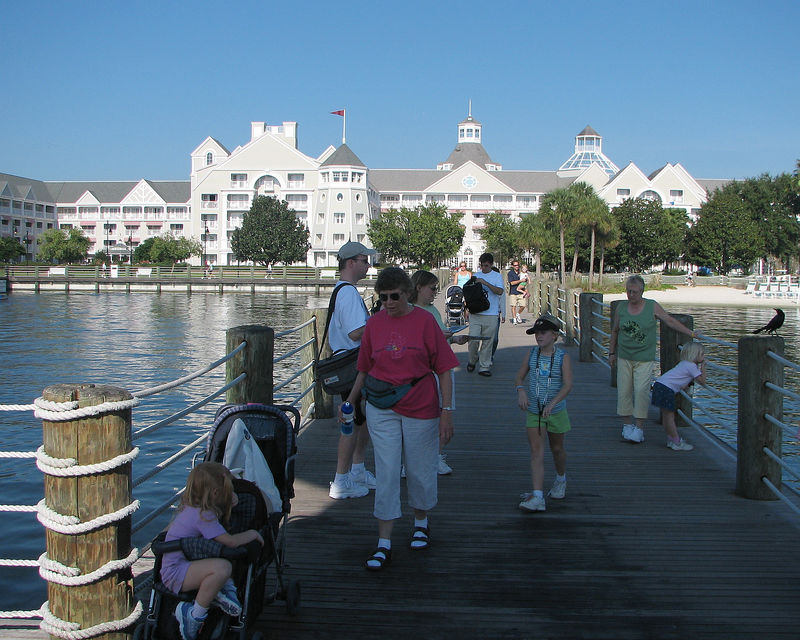 The pier at the Yacht Club.