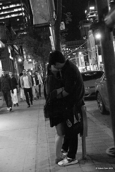 Scenes from the street in Toronto, Ontario in September 2015.