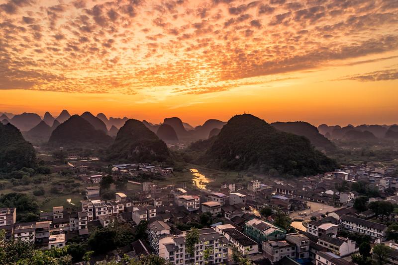 Putao Sunset