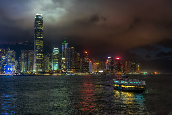 Victoria Harbor Night