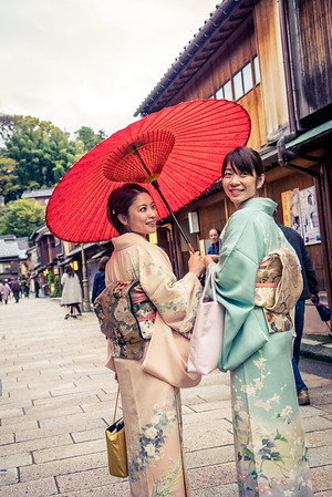 Kimono in Higashi Chaya