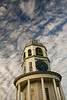 The Town Clock under Cirrus Skies, Halifax, Nova Scotia.