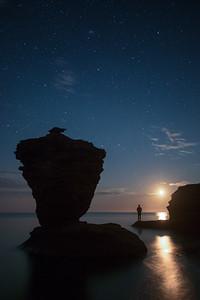 Evening at Teapot Rock, Thunder Cove, Prince Edward Island