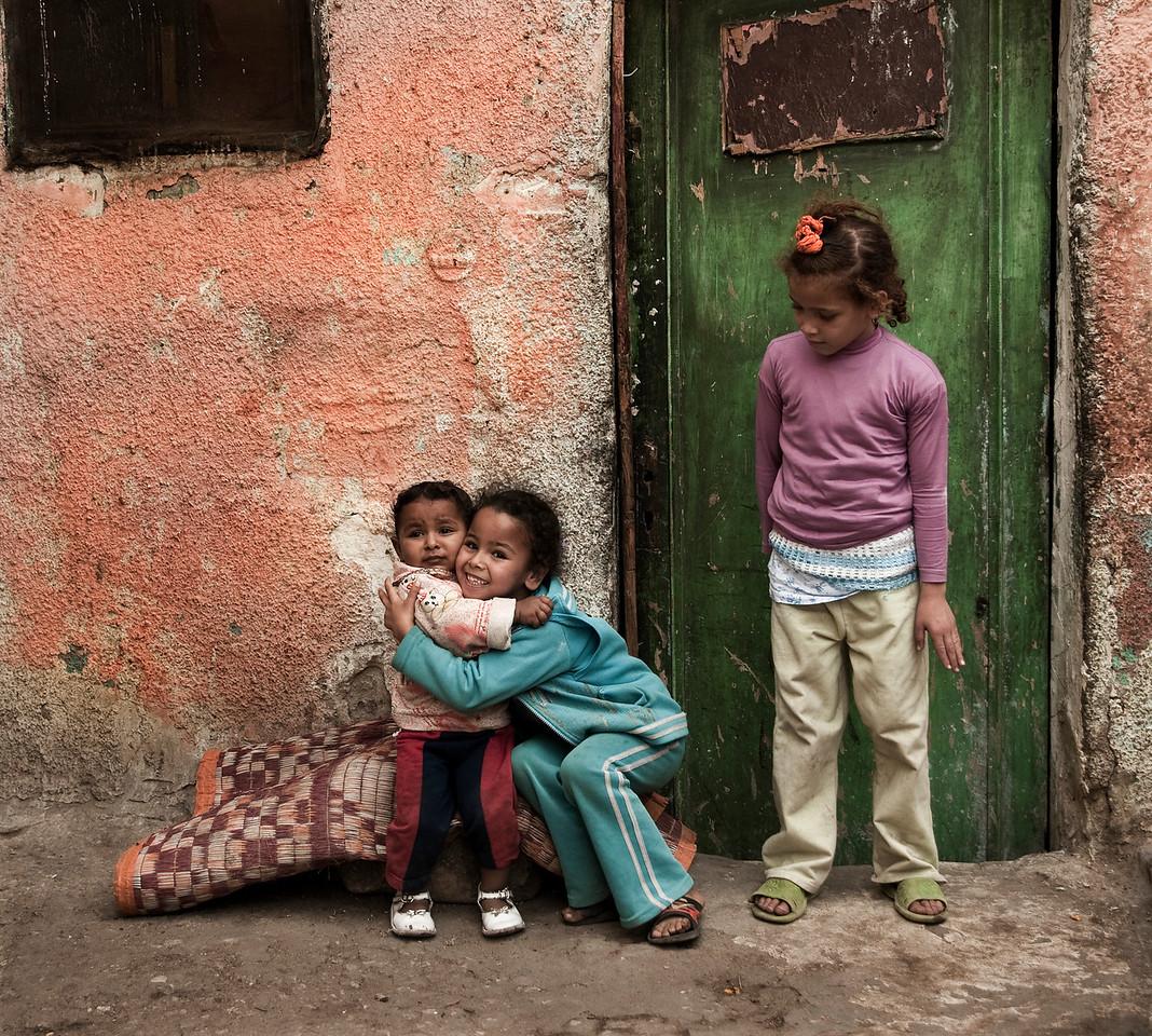 Street scene.<br /> <br /> Cairo, Egypt, 2010.