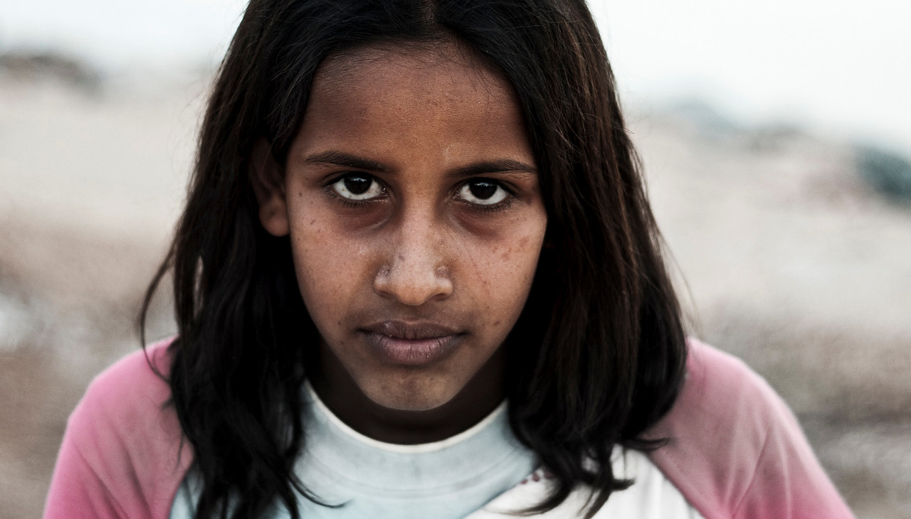 Local girl.<br /> <br /> Dahab, Egypt, 2010.