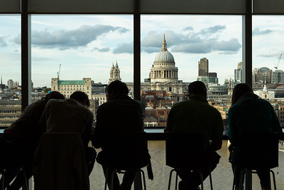 Saint Paul's Cathedral from Tate Modern