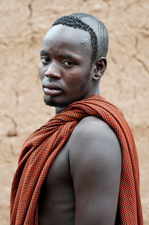 This is Gumdi, a stick fighting champion from the Bodi tribe..  Omo Valley, Southern Ethiopia, 2013.