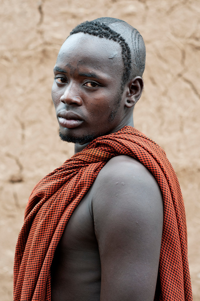 This is Gumdi, a stick fighting champion from the Bodi tribe..<br /> <br /> Omo Valley, Southern Ethiopia, 2013.
