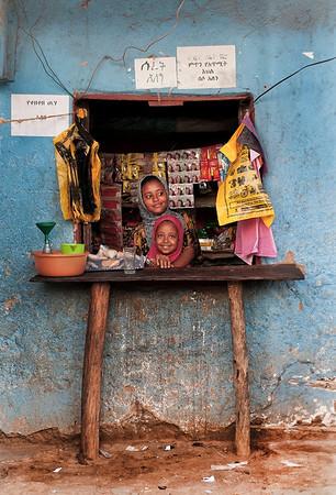 Convenience store.  Jinka, Southern Ethiopia, 2013.