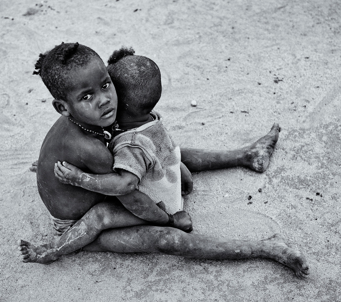Children in the town of Jinka.<br /> <br /> Omo Valley, Southern Ethiopia, 2013.