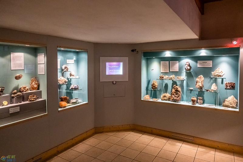 Displays inside the Hallstatt Museum