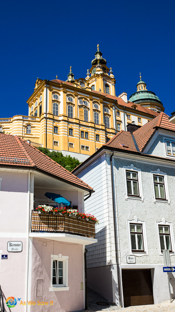 Melk and its Abbey, Austria