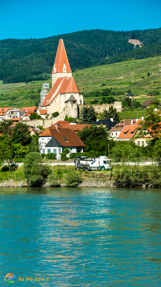 Wachau Valley river cruise scenery, Austria