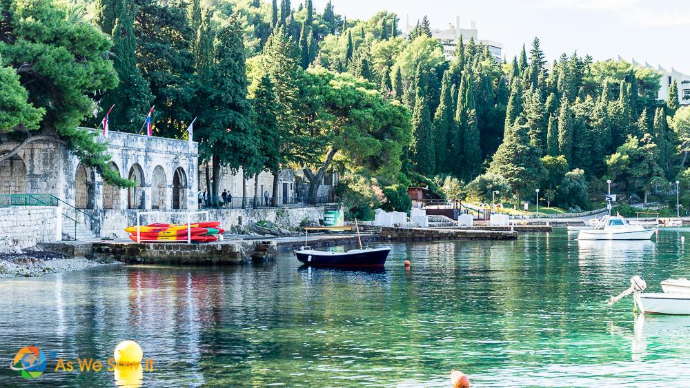 Cavtat, Croatia, a beautiful resort town near Dubrovnik