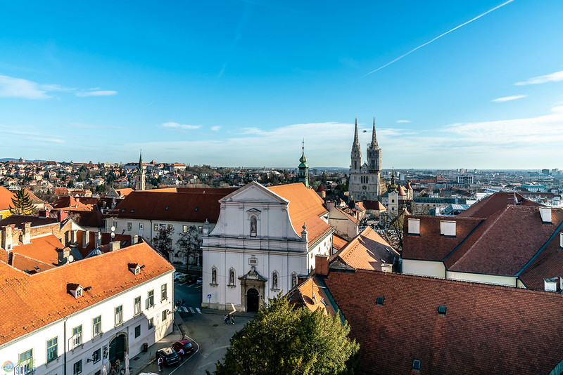 Zagreb from above.