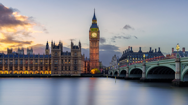 Palace of Westminster – London, England