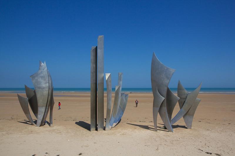 Omaha Beach WWII Memorial