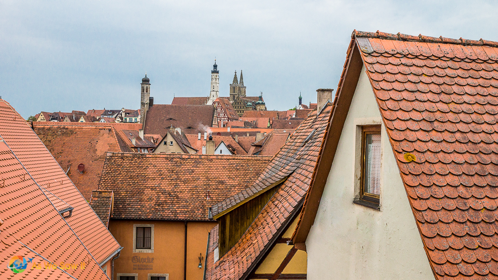 Rooftops of Rothenburg