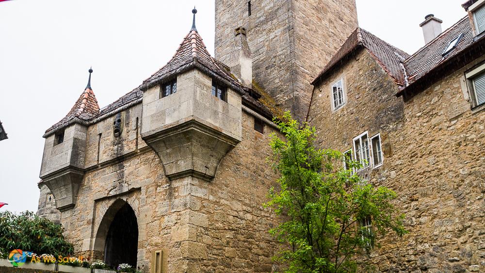 Gate at Rothenburg ob der Tauber