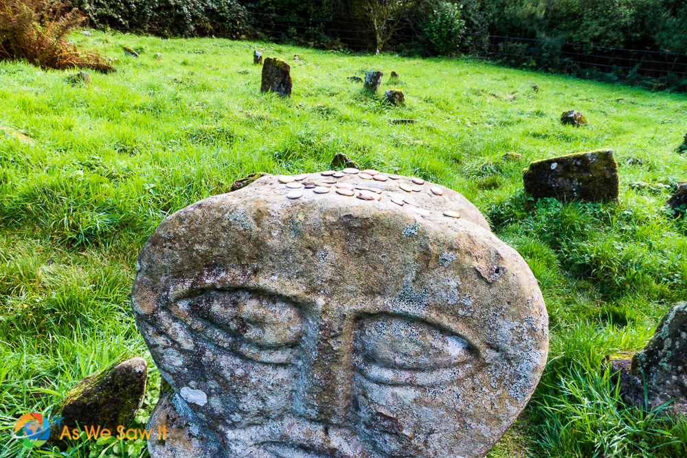 ancient celtic grave stone carvings