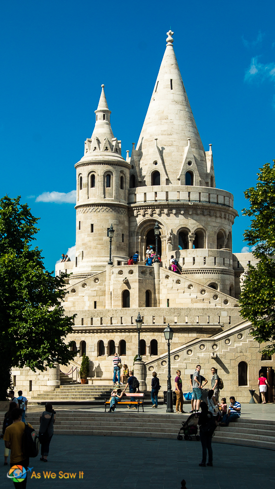 One of the towers at Fisherman's Bastion
