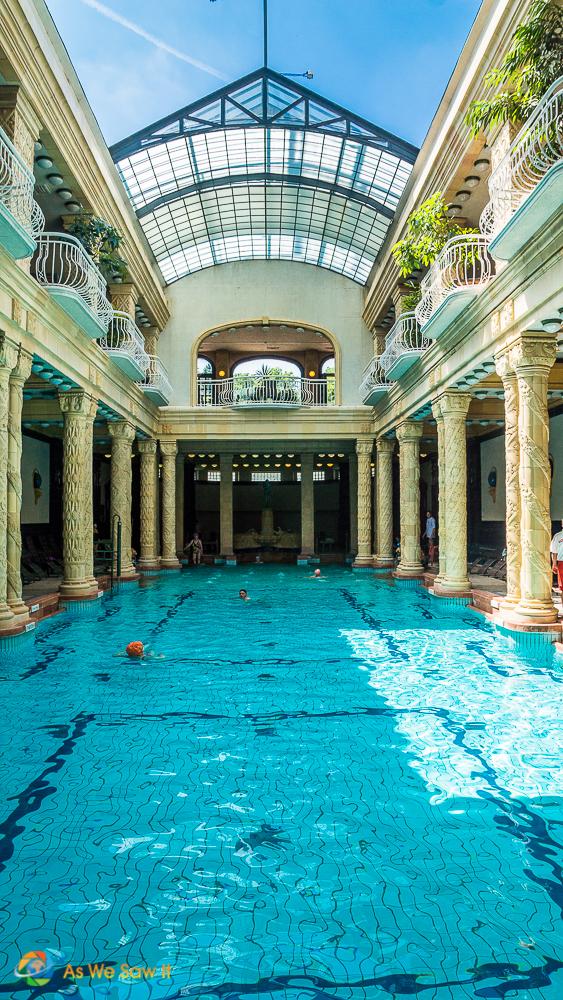 Roman-style Gellert Baths