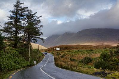 Driving along the Wild Atlantic  Way