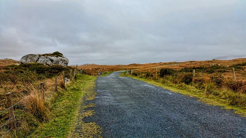 Biking the Sky Road near Clifden