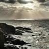 Sun rays on the Wild Atlantic Way