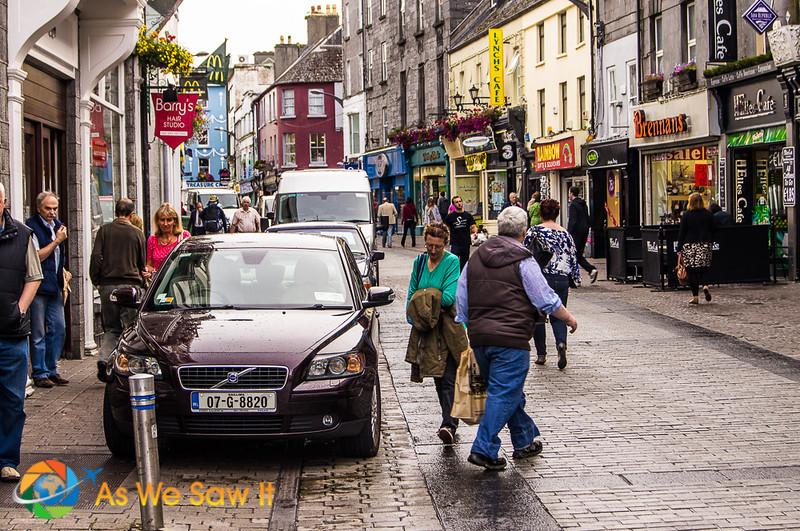 street in Galway Ireland