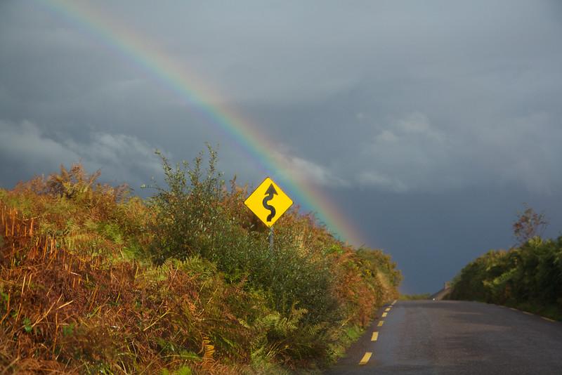 Chasing rainbows on the Wild Atlantic Way