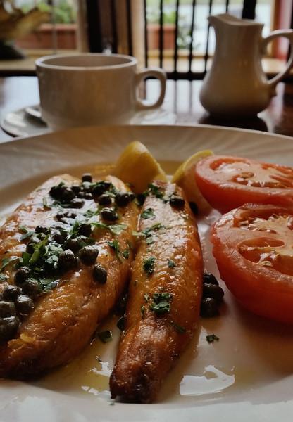 Kippers breakfast