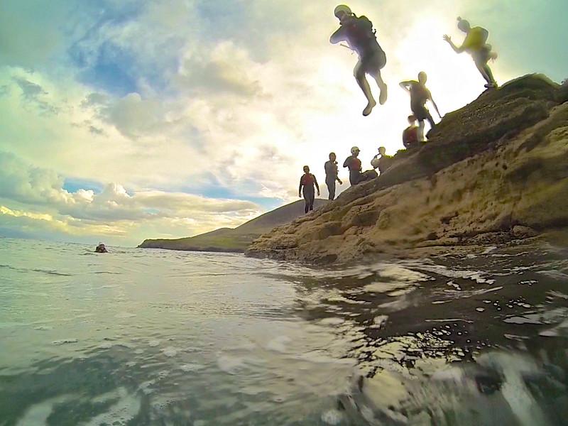 Coasteering Kells Bay