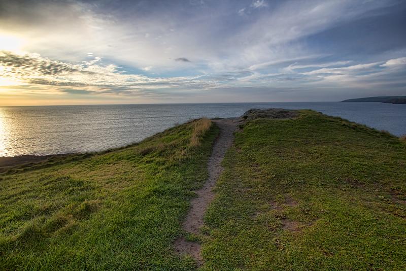 Walking to the Atlantic