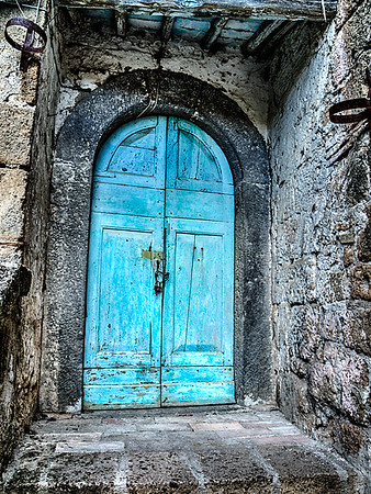 Blue Door - Civita